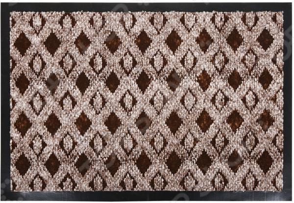 Коврик влаговпитывающий Vortex «Ромбы» 22397 коврик влаговпитывающий vortex samba мозаика
