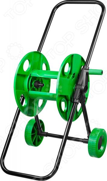 Катушка для шланга на колесах Росток 428427 катушка для шланга delta гидроагрегат ппг 000039