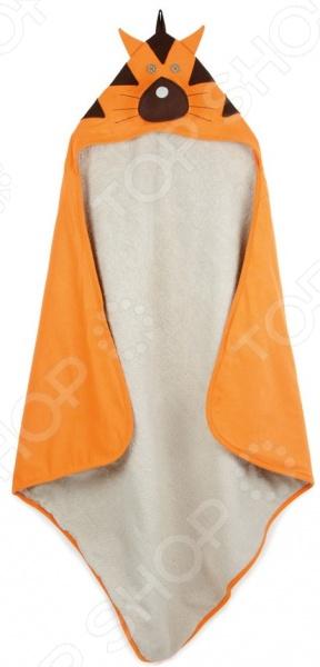 Полотенце с капюшоном 3 Sprouts «Тигр»