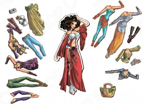 Кукла с аксессуарами Полноцвет «Виолетта с одеждой»