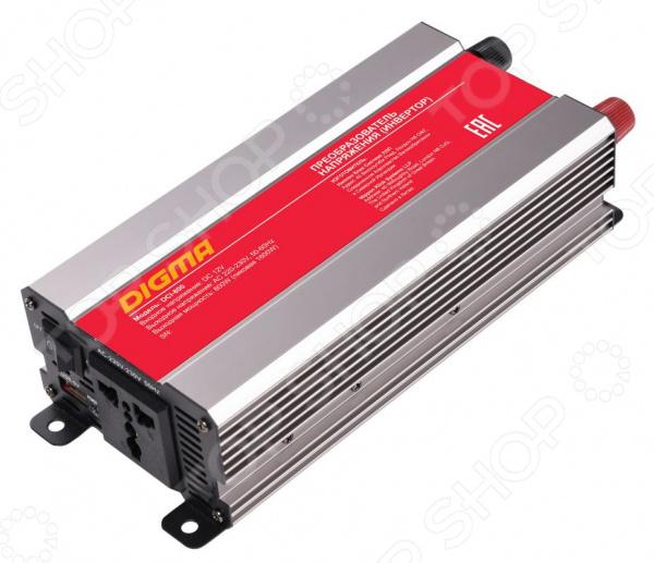 Инвертор автомобильный Digma DCI-800 автомобильный инвертор напряжения digma dci 800 800вт