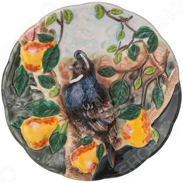 Тарелка декоративная «Птица в саду» - артикул: 1863588