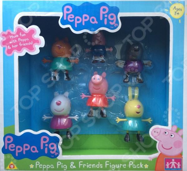 Набор фигурок игрушечных Peppa Pig «Пеппа и друзья»