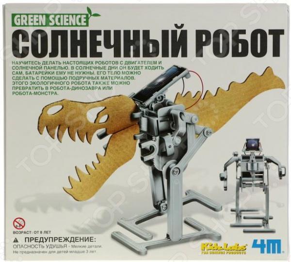 Набор для изобретателей 4M «Солнечный робот» 4м солнечный робот