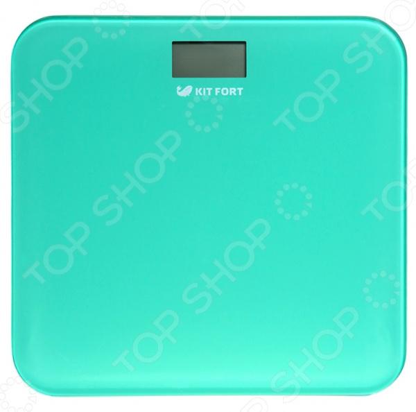 Весы KITFORT КТ-804 Весы KITFORT КТ-804-1 /Зеленый