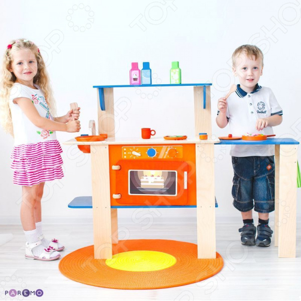 Кухня детская с аксессуарами PAREMO «Гавайский Микс» кухня трансформер paremo мятный лимонад с 16 аксессуарами pk 115 01