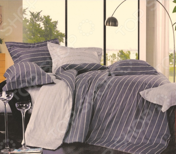 Комплект постельного белья La Noche Del Amor 543. Цвет: серый, сиреневый cacharel туалетная вода женская amor amor l eau 50 мл os