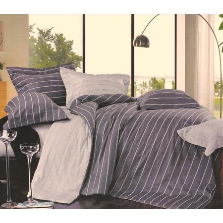 Купить Комплект постельного белья La Noche Del Amor 543. 1,5-спальный. Цвет: серый, сиреневый