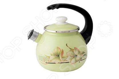 Чайник со свистком Idilia «Цитроновая лилия» gipfel чайник для кипячения воды visit 2 7 л