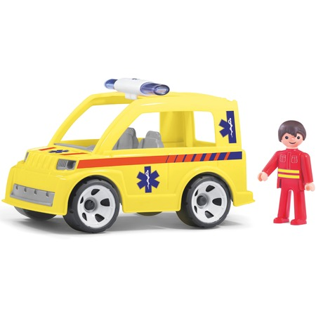 Купить Машинка игровая EFKO «Машина скорой помощи и водитель»