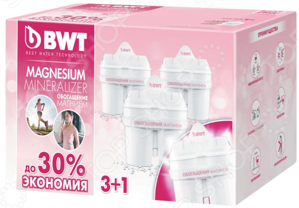 Комплект картриджей для фильтра BWT «Обогащение магнием 3+1» цена