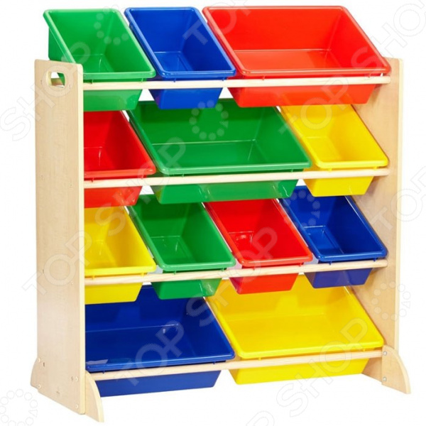 Система для хранения игрушек KidKraft с 12 контейнерами