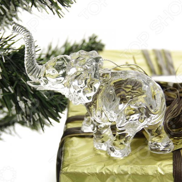 Елочное украшение Crystal Deco «Слон»