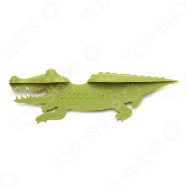 Закладка книжная Peleg Design Crocomark peleg design держатель для ключей магнитный key pete зеленый