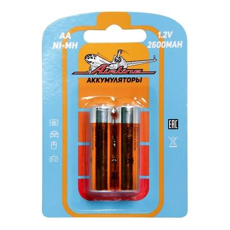 Набор батареек аккумуляторных Airline HR6