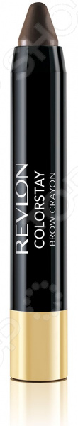 Карандаш для бровей Revlon Colorstay Brow Crayon карандаш дуэт с гелем для бровей revlon colorstay brow fantasy pencil