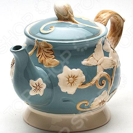 Чайник заварочный Loraine LR-22446 чайник заварочный loraine lr 23768 0 7л белый с рисунком ромашки