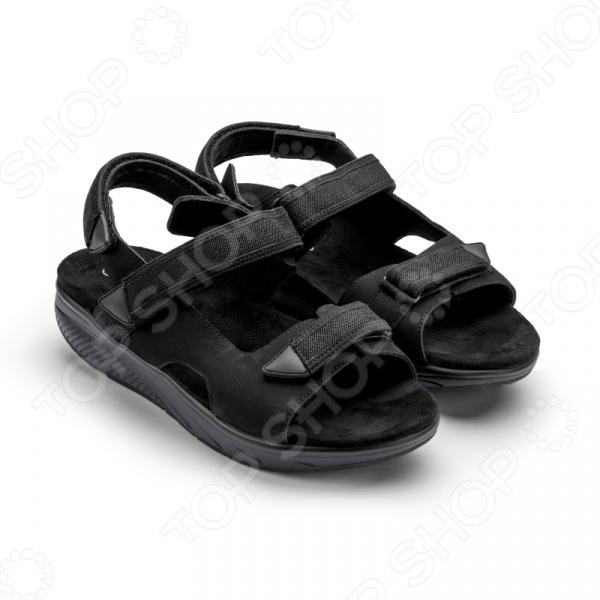 Сандалии дышащие мужские Walkmaxx Pure 2.0. Цвет: черный