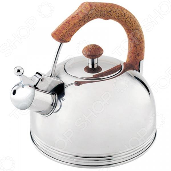 цена на Чайник со свистком Wellberg WB-509