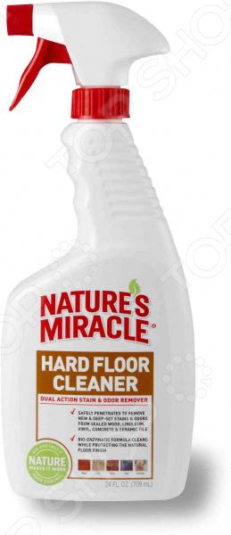 Уничтожитель пятен и запахов от животных Hard Floor Cleaner