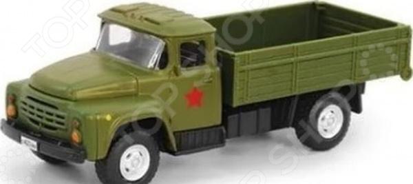 Машина инерционная PlaySmart «Грузовик военный»