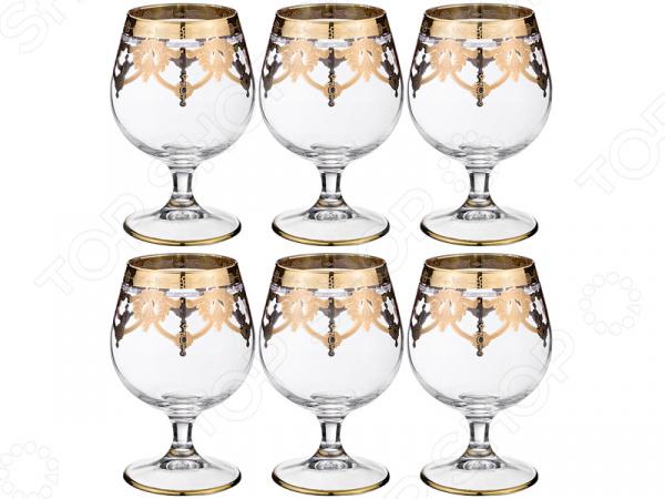 Набор бокалов для коньяка ART DECOR «Амальфи» 326-045 набор бокалов для бренди коралл 40600 q8105 400 анжела
