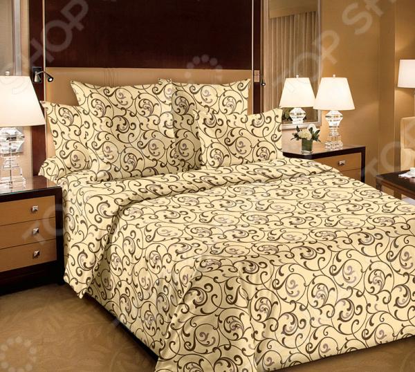 Комплект постельного белья Белиссимо «Вензель»