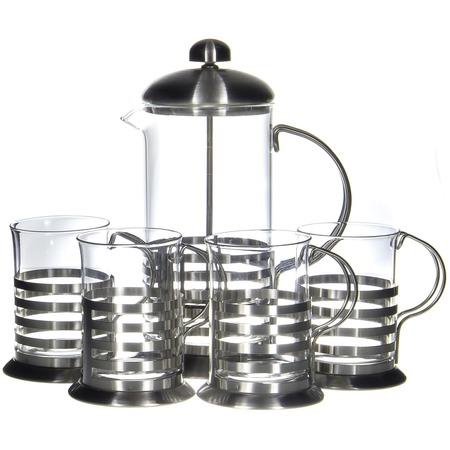 Купить Френч-пресс с набором чашек Guterwahl YM-S4-009/600
