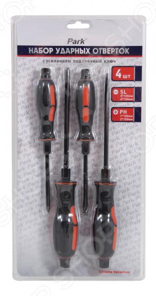 Набор отверток ударных с усилением под гаечный ключ Park OTV05NB гаечный ключ комбинированный park tool 10 мм ptlmw 10