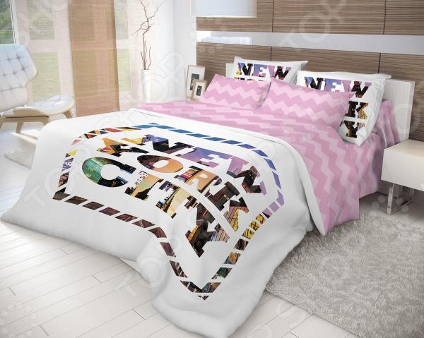 Комплект постельного белья Волшебная ночь New York. Семейный