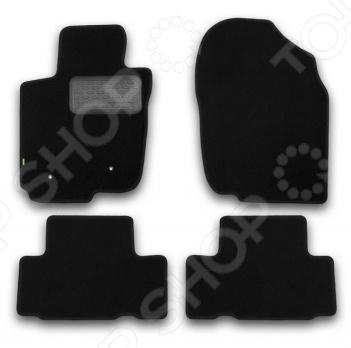 Комплект ковриков в салон автомобиля Klever Toyota RAV4 2010-2013 Standard защита картера и кпп автоброня toyota rav4 2006 2010 toyota rav4 2010 2013 toyota rav4 2013 2015 сталь 2 мм