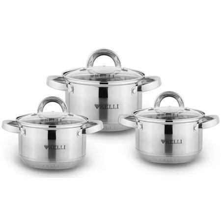 Купить Набор посуды Kelli KL-4246