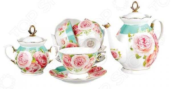Чайный сервиз Коралл «Пионы» V14 Коралл - артикул: 1052737
