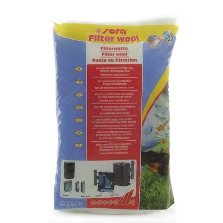 Вата фильтрующая для аквариума Sera Fillter Wool