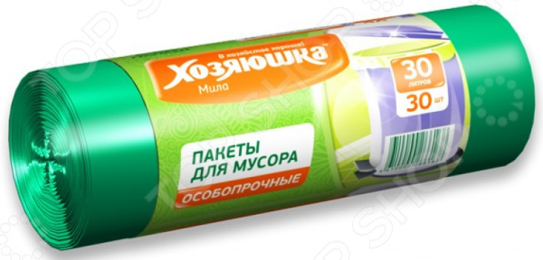 Пакеты для мусора Хозяюшка «Мила» 07017 пакеты для мусора хозяюшка мила 07012