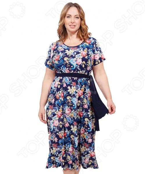 Платье Лауме-стиль «Ярина». Цвет: розовый