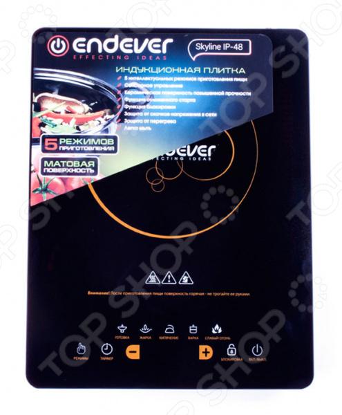 Плита настольная индукционная Endever Skyline IP-48