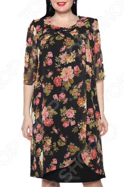 Платье Pretty Woman «Романтика». Цвет: черный, розовый платье pretty woman неповторимая цвет розовый