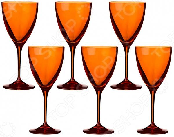 Набор бокалов для вина Bohemia Crystal Kate 674-570 набор бокалов crystalex джина б декора 6шт 210мл шампанское стекло