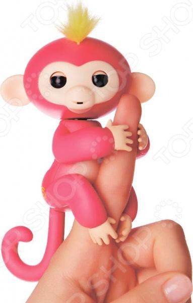 Игрушка интерактивная Fingerlings «Обезьянка Белла» игрушка интерактивная 31 век обезьянка f 003b р