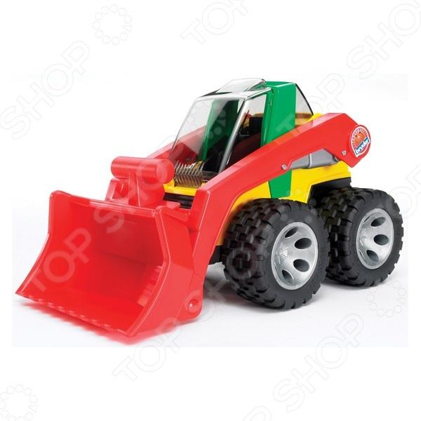 Погрузчик игрушечный Bruder ROADMAX машины bruder погрузчик roadmax с ковшом и разрыхлителем