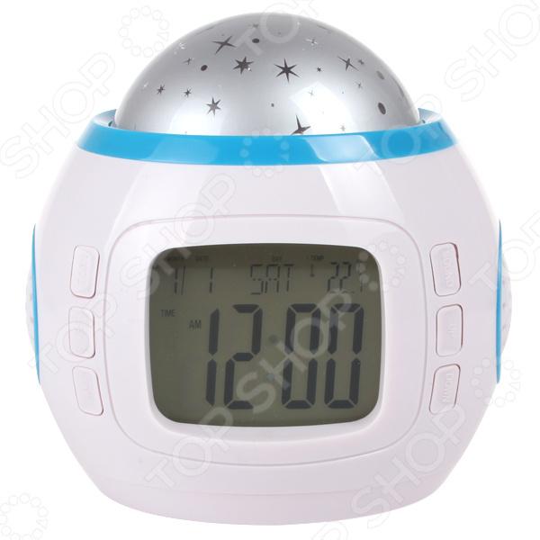 Часы-будильник мультифункциональные «Звездное небо» ночник bradex звездное небо