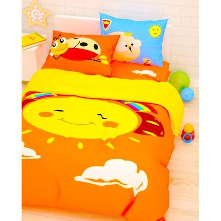 Купить Детский комплект постельного белья Сирень «Веселое солнце»