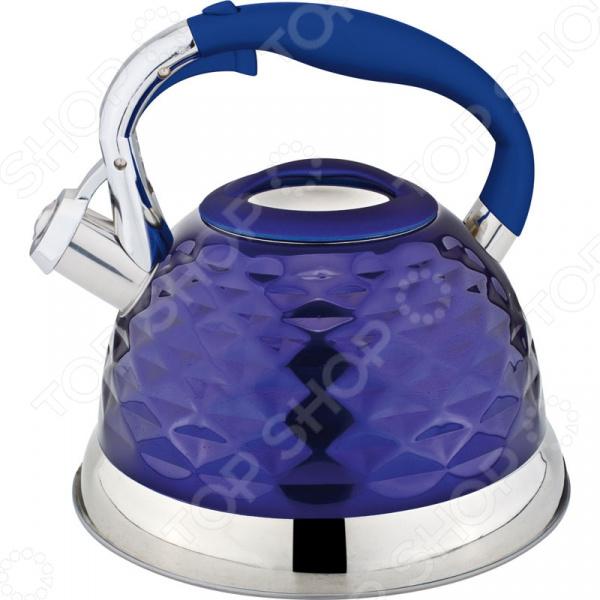 Чайник со свистком Rainstahl RS\WK-7634-27. В ассортименте чайник со свистком rainstahl 7600 27rs wk в ассортименте