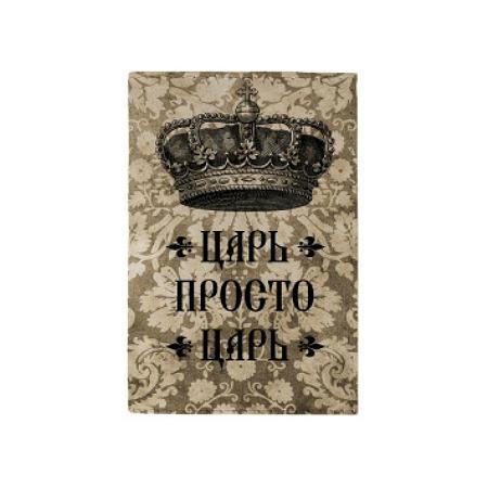 Купить Обложка для паспорта Mitya Veselkov «Царь на цветочном фоне»