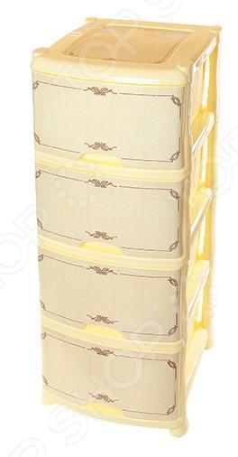 Комод 4-х секционный Violet 0352 «Беленый дуб» владимирские железные двери беленый дуб