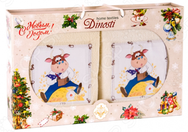 Набор кухонных полотенец Dinosti 1747332