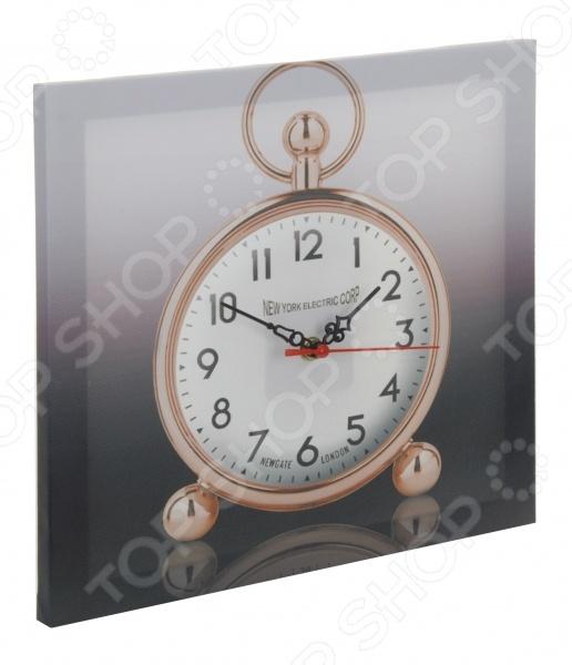 Часы настенные Mitya Veselkov «Будильник на холсте»