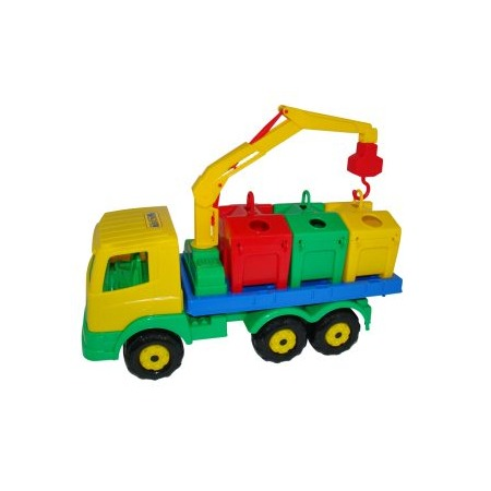 Купить Машинка игрушечная POLESIE «Контейнеровоз»