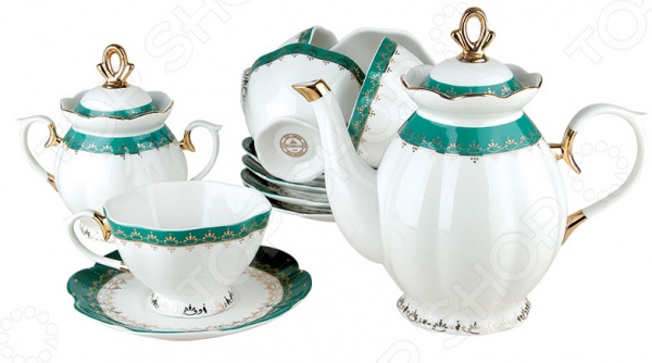Чайный сервиз Коралл «Изумруд» V14 Коралл - артикул: 1052736
